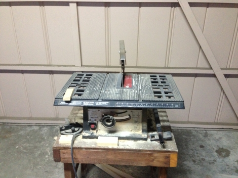 This table saw is my favorite tool. It's helped me with so many projects!