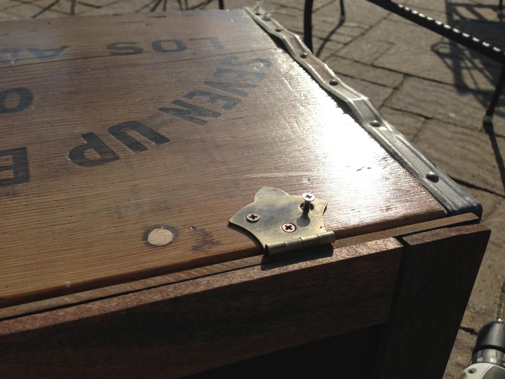 Vintage Soda Crate Chalkboard Nightstands (3/6)