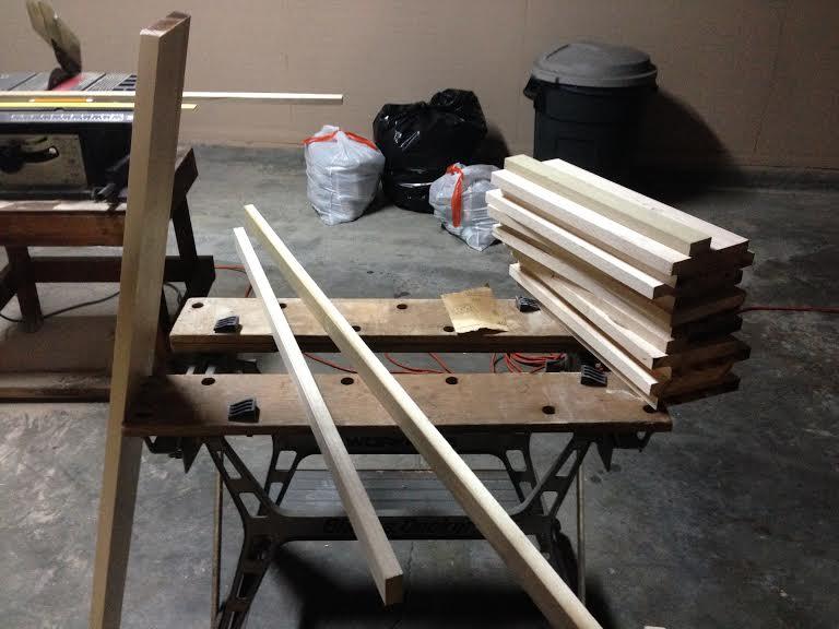 DIY Maple and Poplar Cutting Board (2/6)
