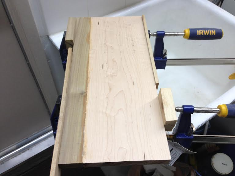 DIY Maple and Poplar Cutting Board (3/6)