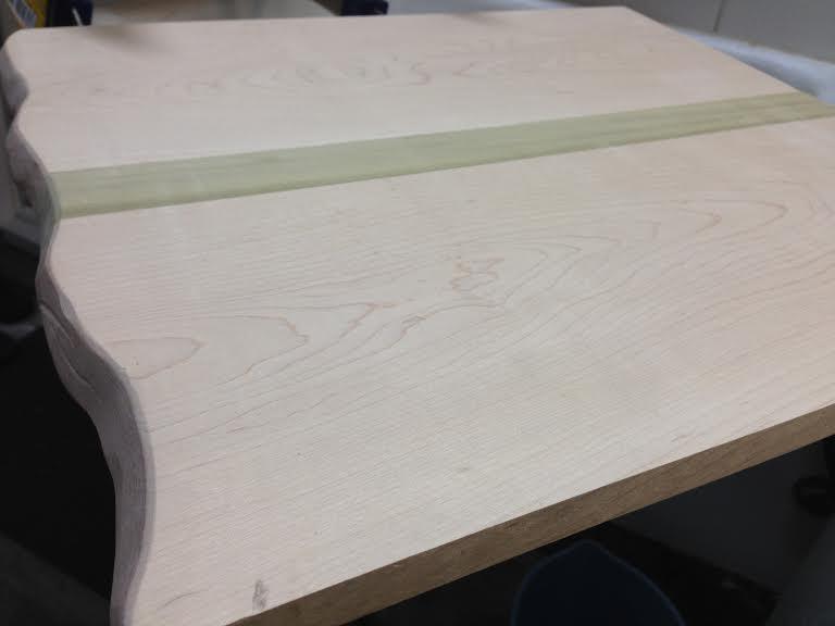 DIY Maple and Poplar Cutting Board (5/6)