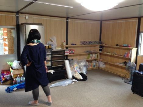 Community room that SOLA operates out of in Asahigaoka.